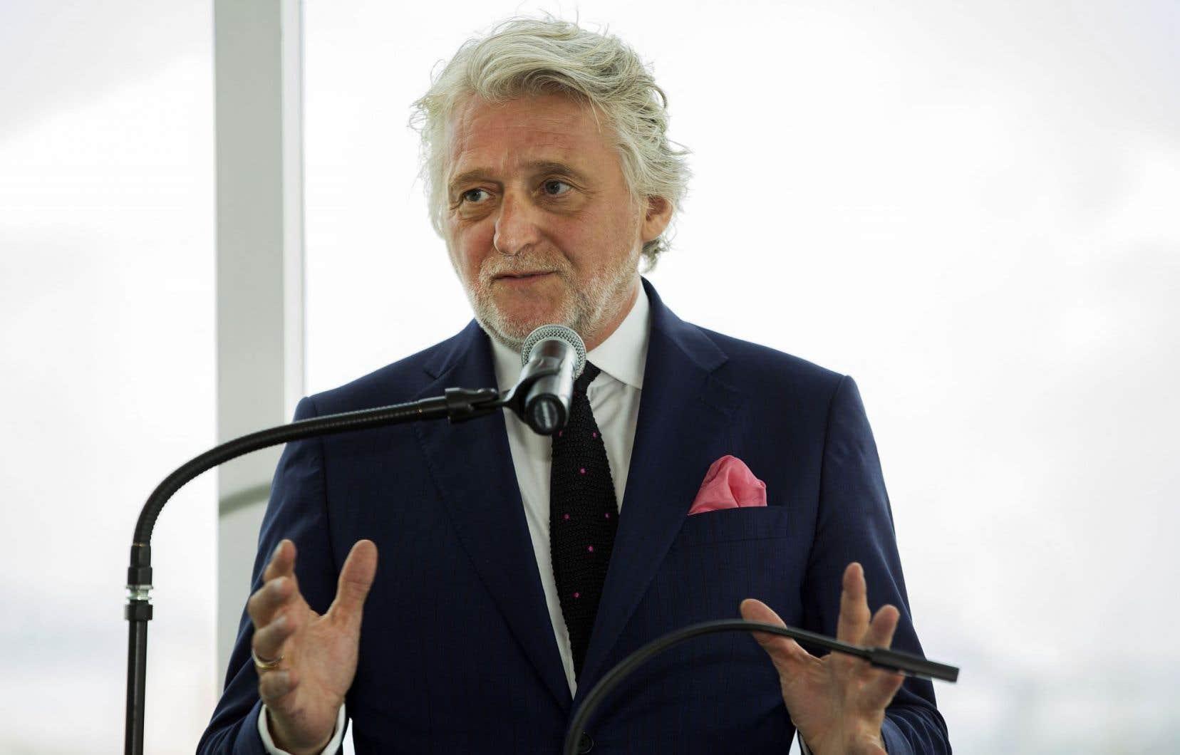 Le commissaire aux célébrations du 375e anniversaire de Montréal, Gilbert Rozon