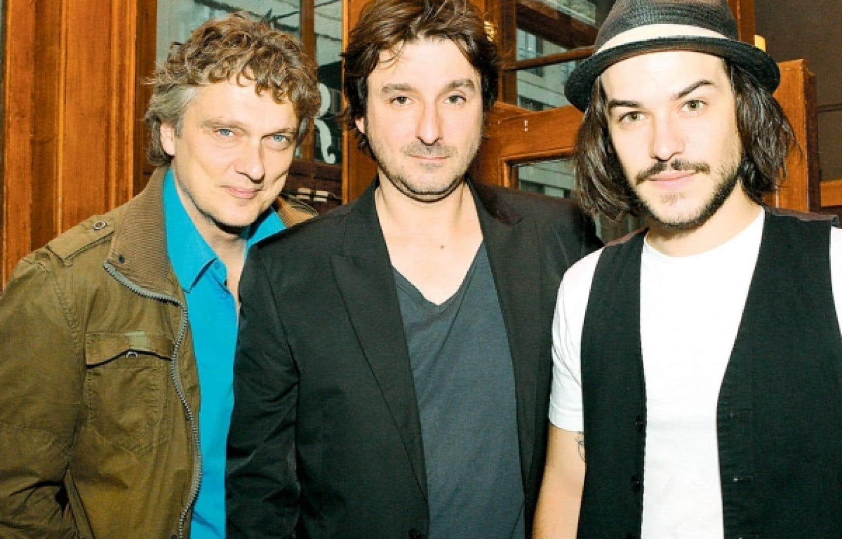Normand D'Amour, Éric Tessier et Marc-André Grondin, pour «5150, rue des Ormes».