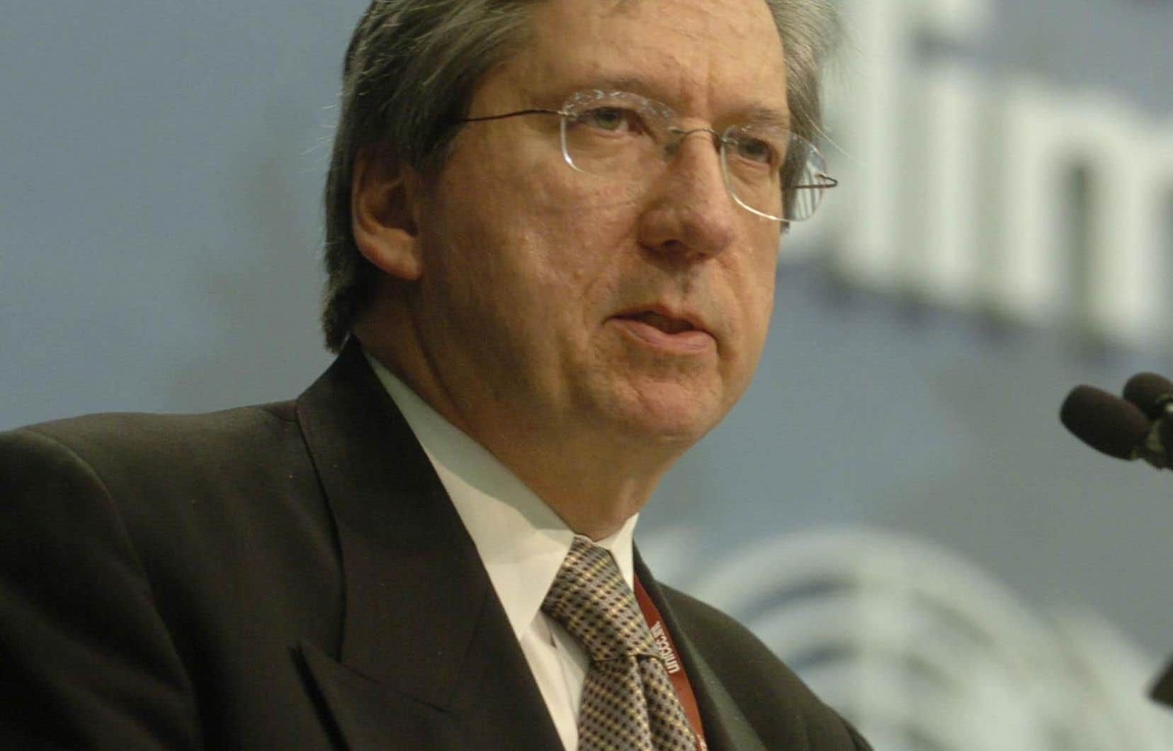 Daniel Gagnier a été chef de cabinet du premier ministre libéral Jean Charest de 2007 à 2009.