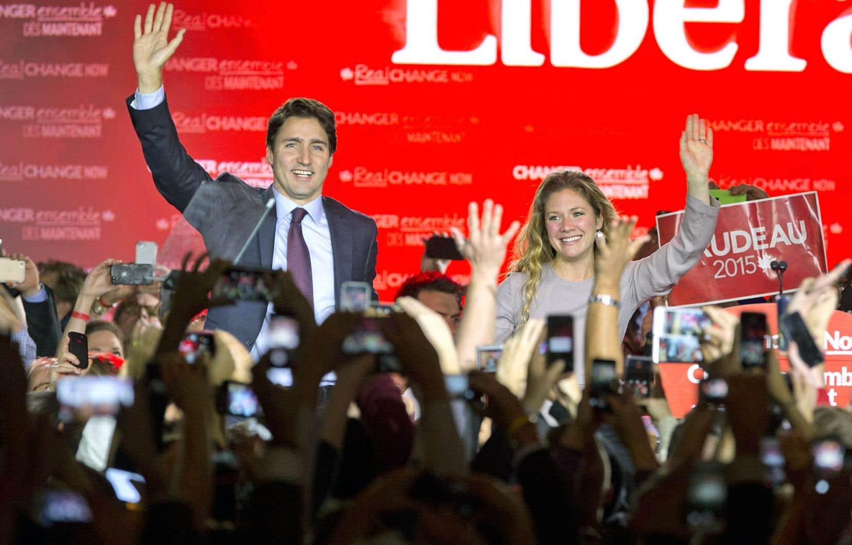L'ampleur de la victoire libérale a surpris tout le monde, y compris les militants de « Justin ».