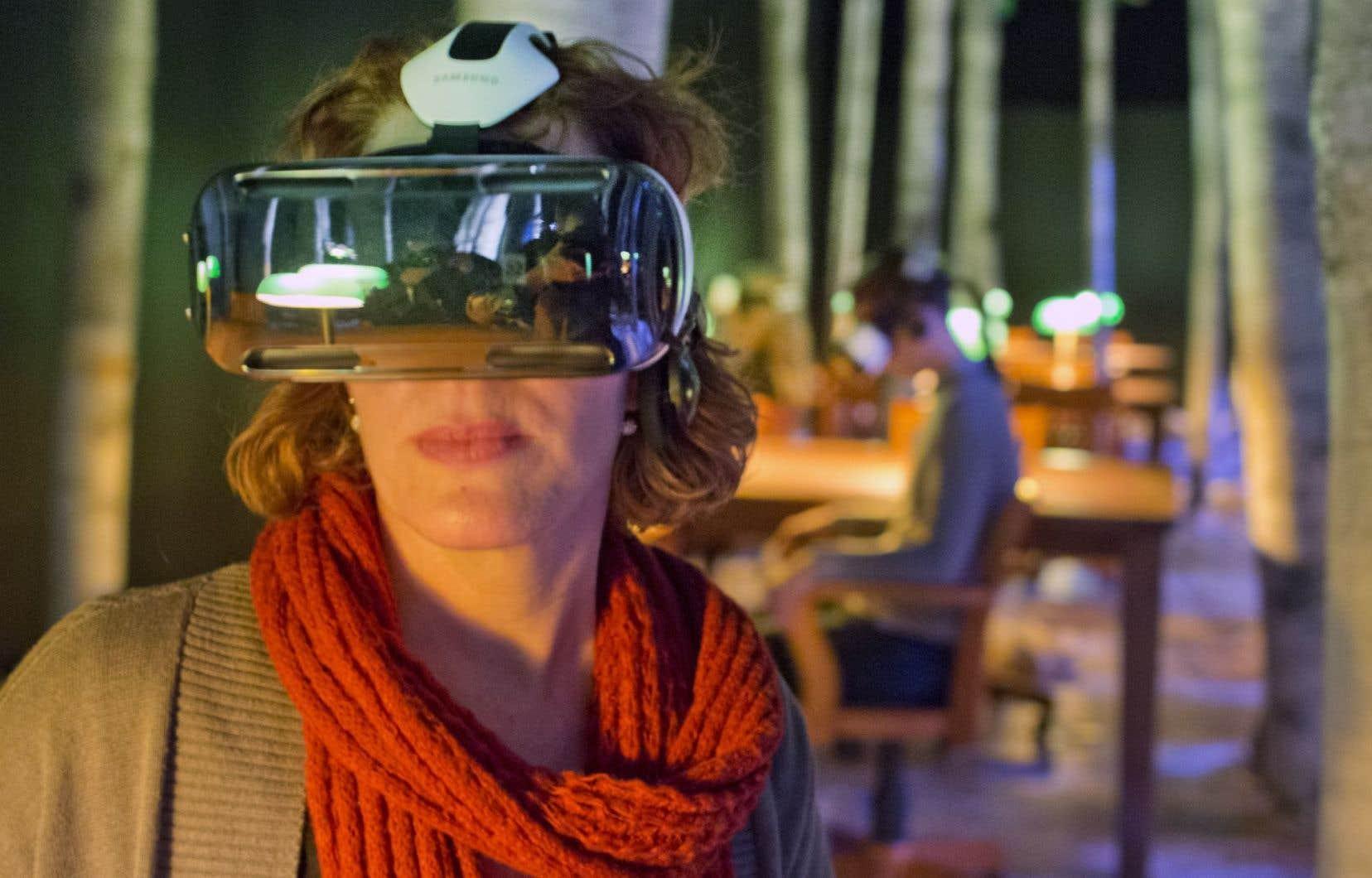 La technologie des lunettes Oculus Rift est au service des Montréalais.