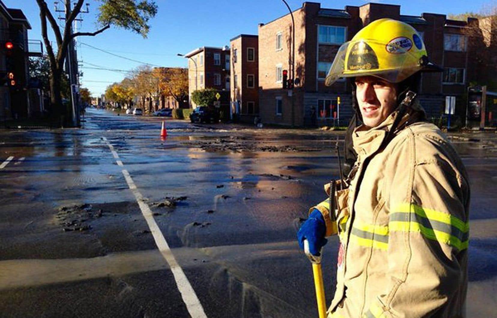 L'intersection du boulevard Pie-IX et de la rue Villeray demeurera fermée toute la fin de semaine.