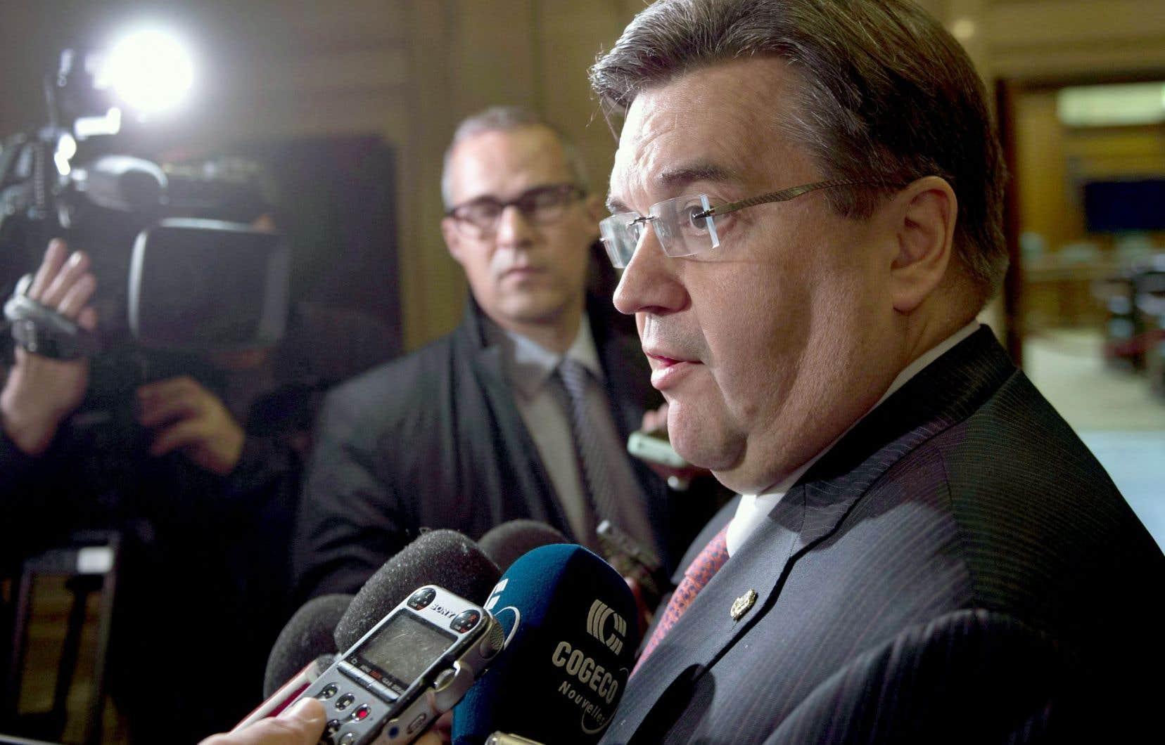 La Ville serait prête à procéder au déversement dans le fleuve Saint-Laurent dès mardi, a laissé entendre vendredi le maire Coderre.