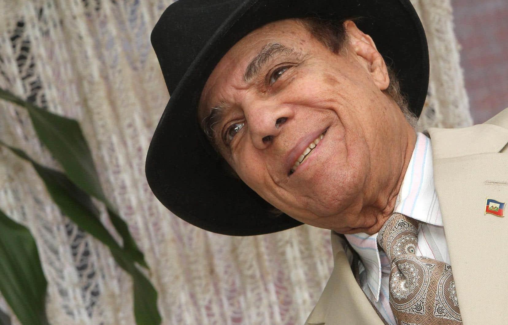 Le chanteur haïtien Joe Trouillot, photographié en 2010