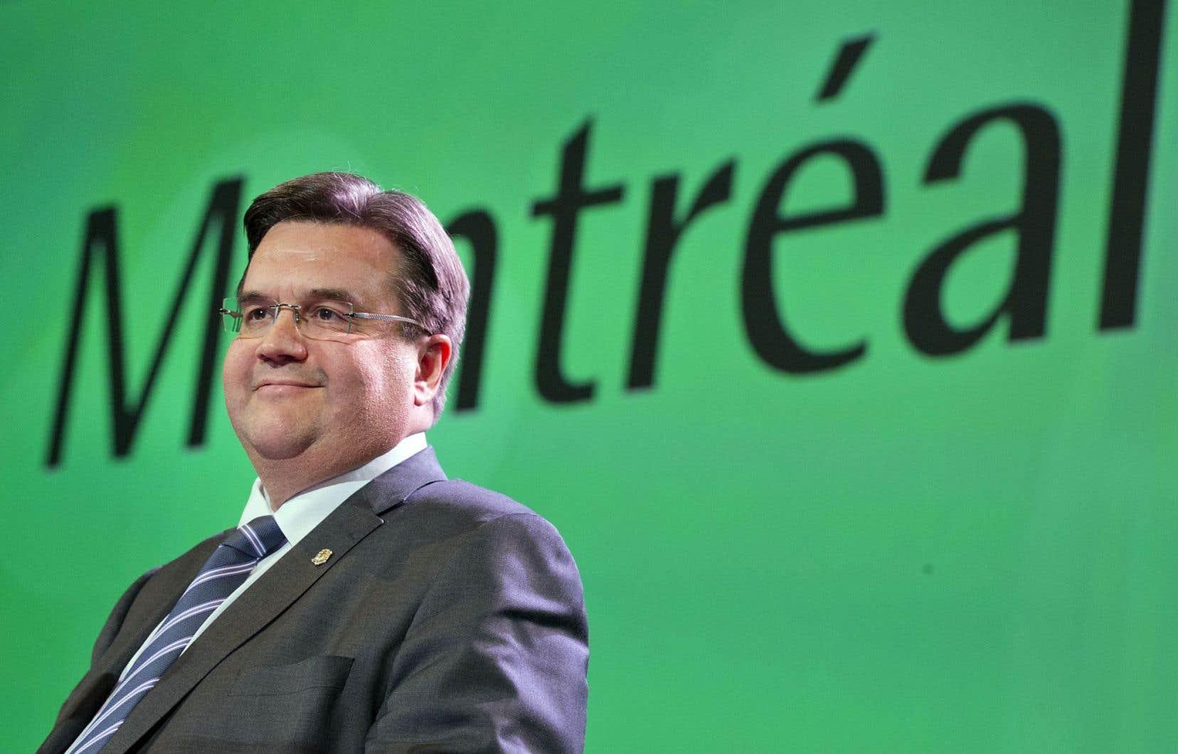 Le maire de Montréal, Denis Coderre, a toujours la cote.