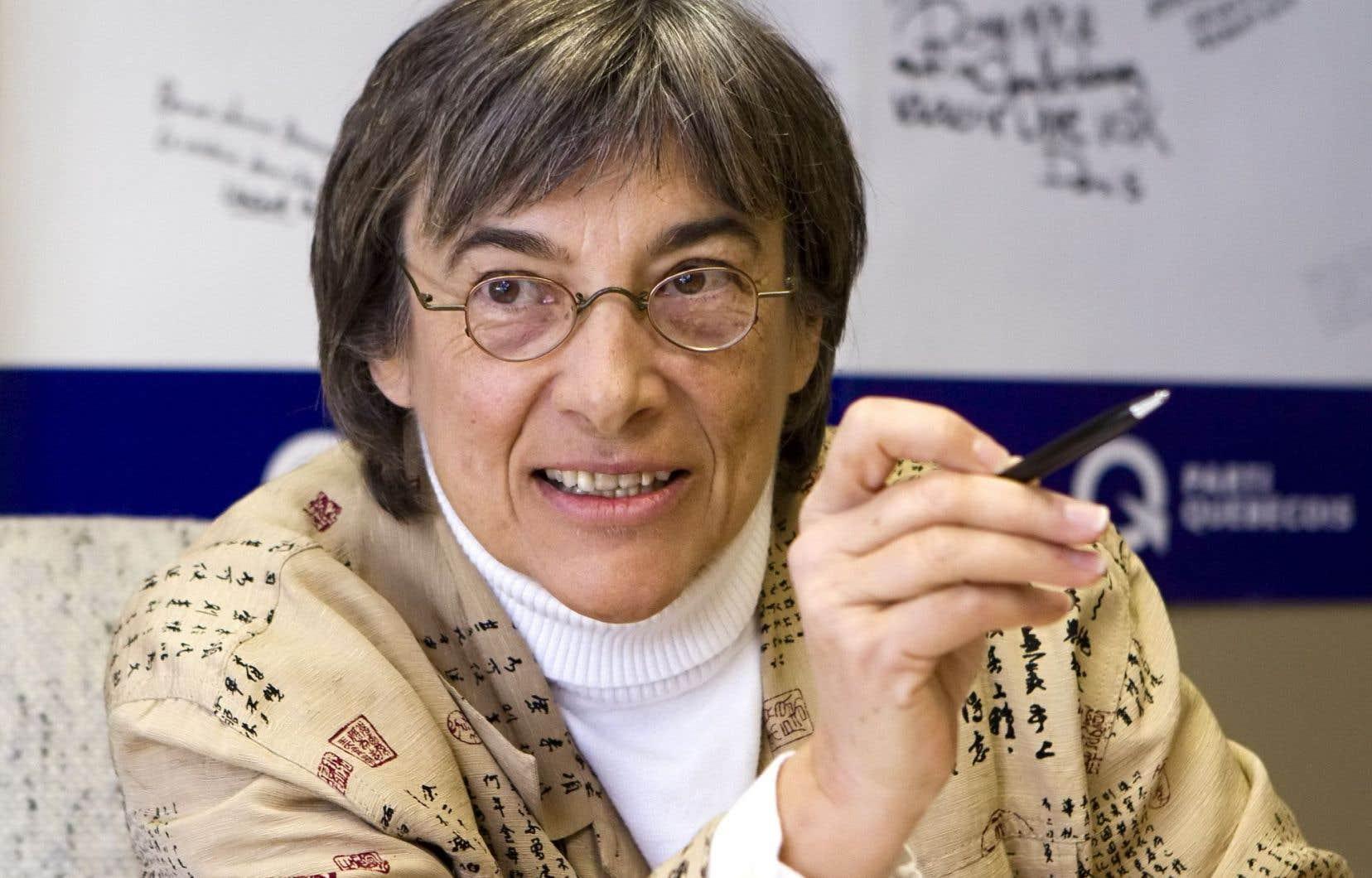 La professeure Dominique Payette était candidate pour le Parti québécois aux dernières élections.