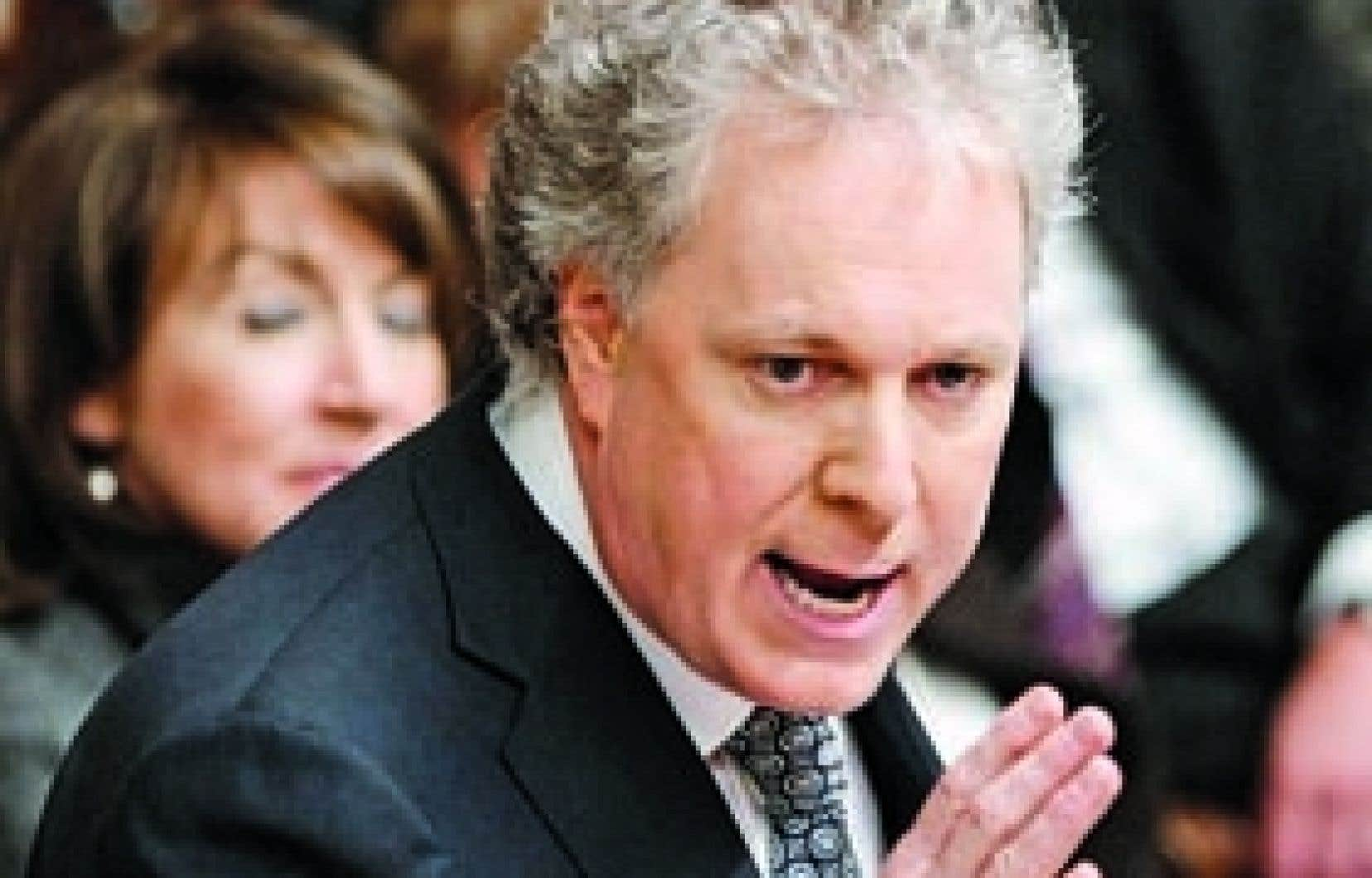 Le discours inaugural de Jean Charest, hier à Québec, annonce des compressions pour le prochain budget.