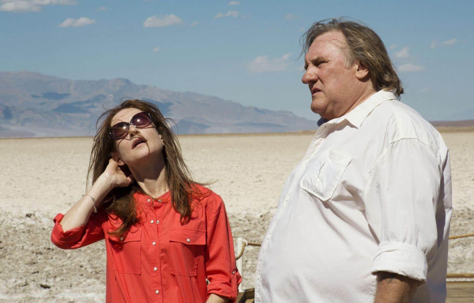 Isabelle Huppert et Gérard Depardieu, réunis 35 ans après «Loulou», de Maurice Pialat