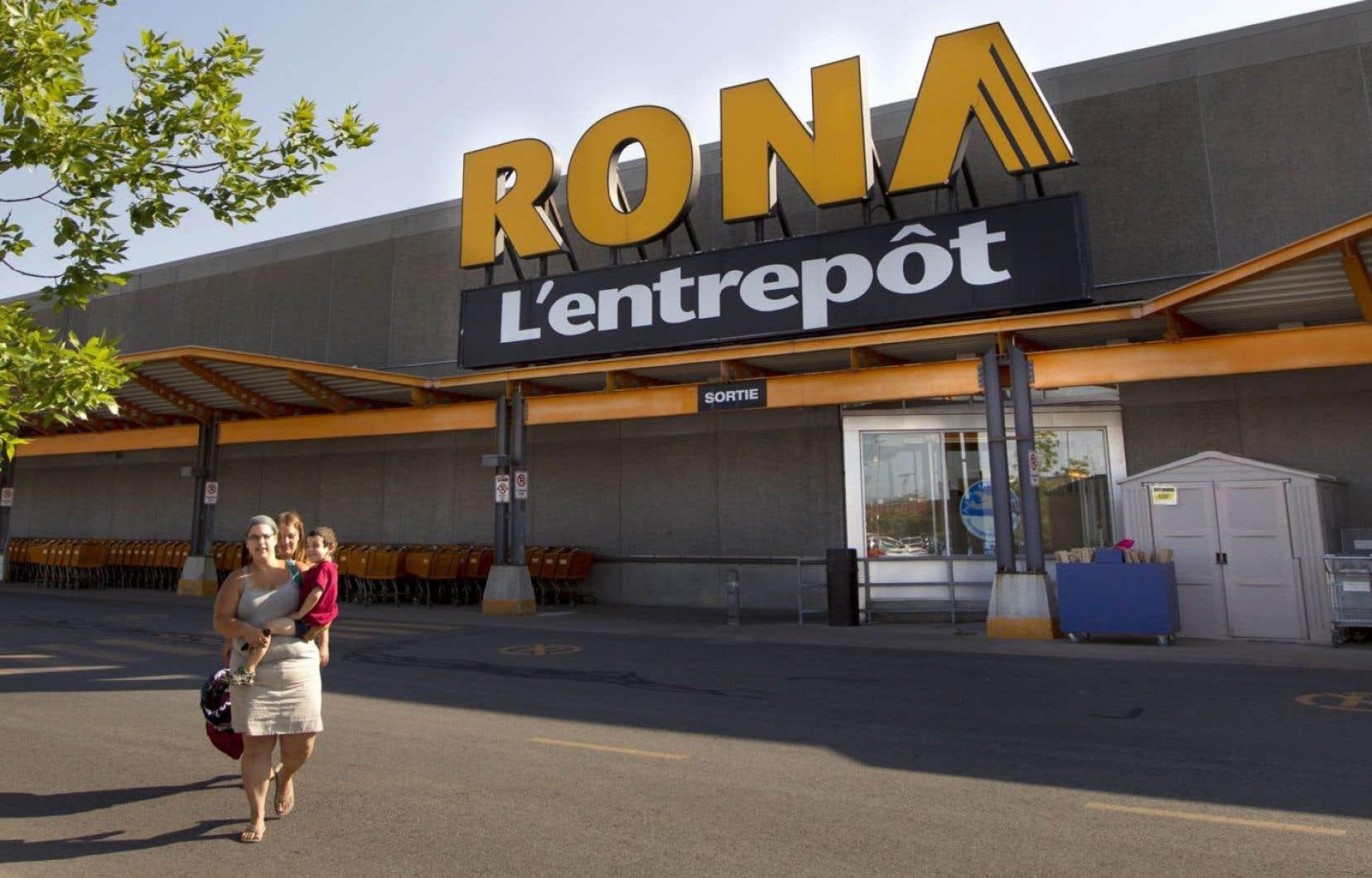 En raison de la conjoncture économique défavorable, Rona a toutefois dû travailler d'arrache-pied pour continuer d'atteindre cet objectif.