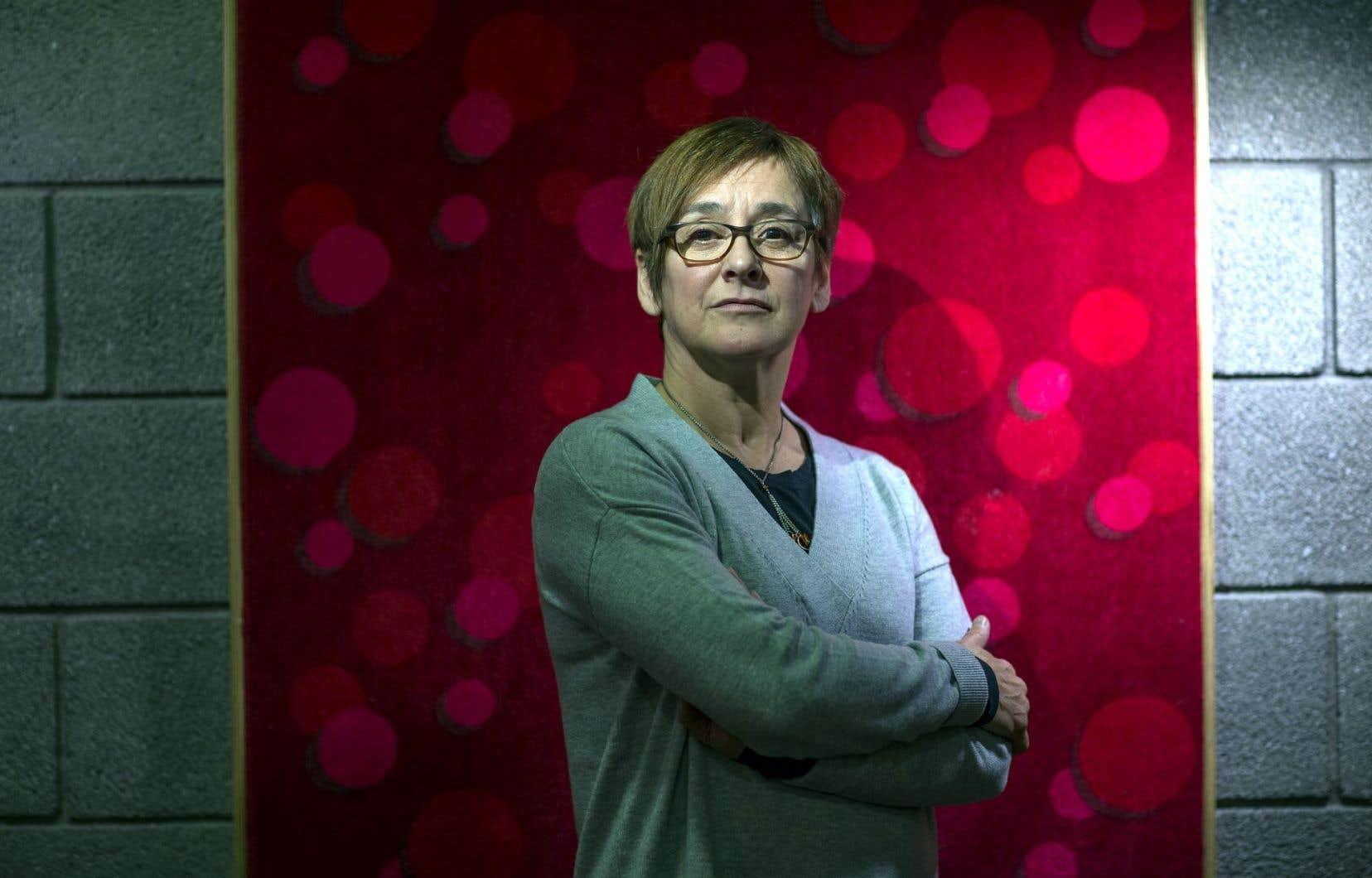 Ginette Laurin, tête à penser des danses d'O Vertigo depuis 30ans, prépare sa sortie progressive de la compagnie.