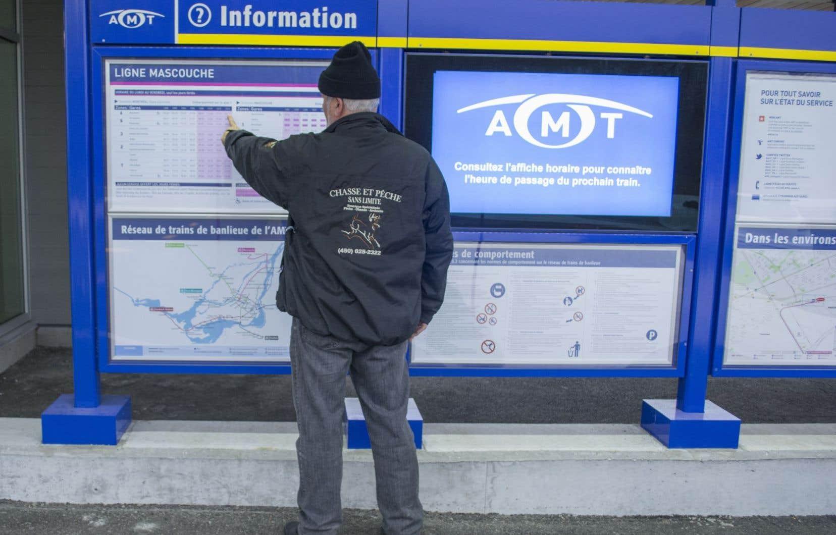 L'Agence métropolitaine de transport (AMT) sera abolie.