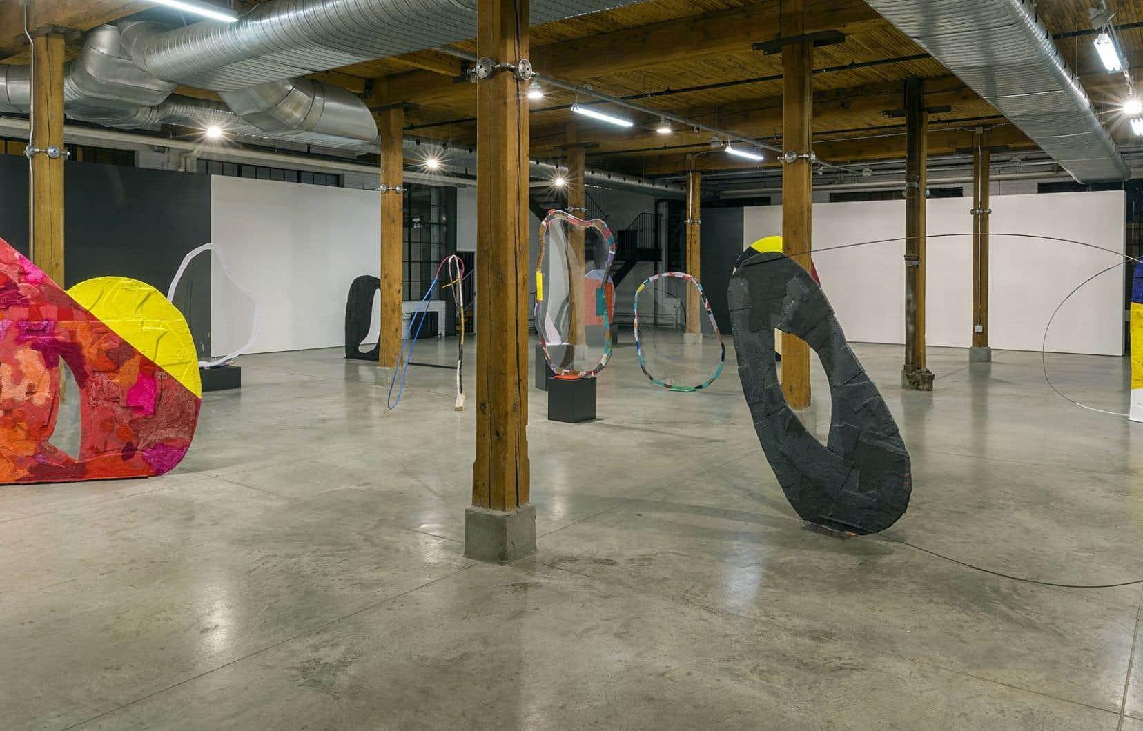 C'est la première exposition personnelle de Fabienne Lasserre à Montréal depuis 2003.