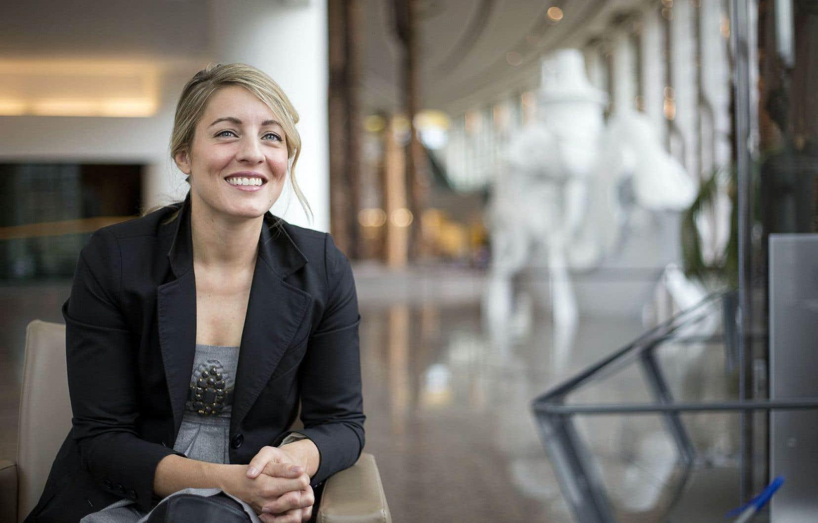 La nouvelle ministre du Patrimoine canadien, Mélanie Joly