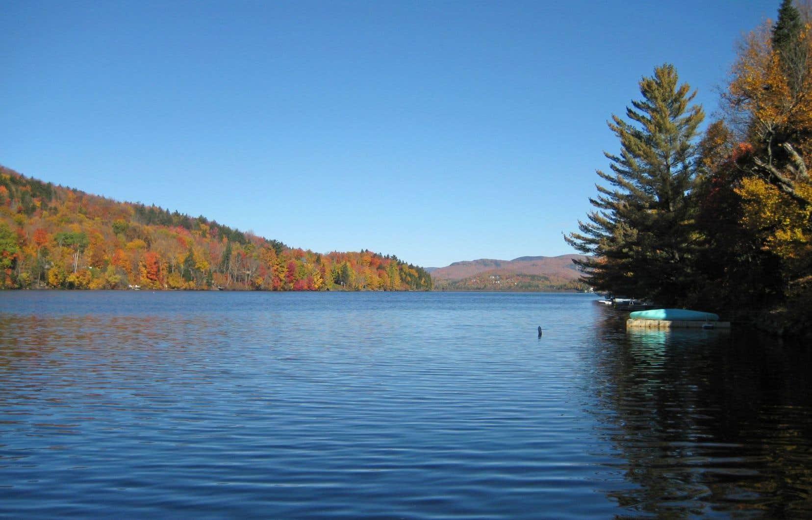 Le lac Saint-Charles est un dossier fétiche du parti Démocratie Québec.