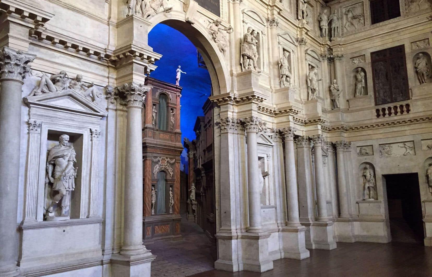 Le Teatro Olimpico Vicenza Palladio