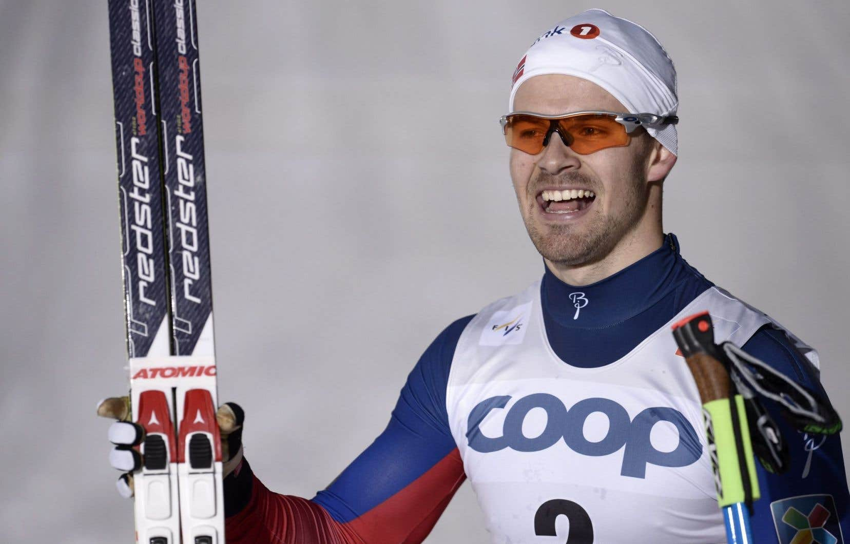 Le skieur Sondre Turvoll Fossli