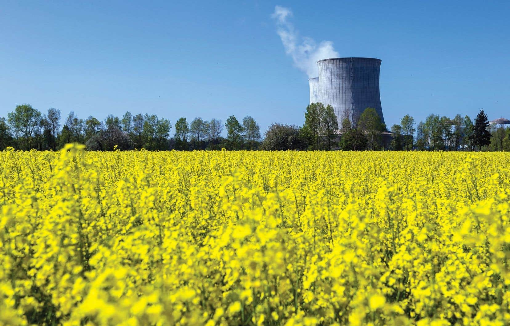 La centrale nucléaire de Saint-Laurent-des-Eaux, en France