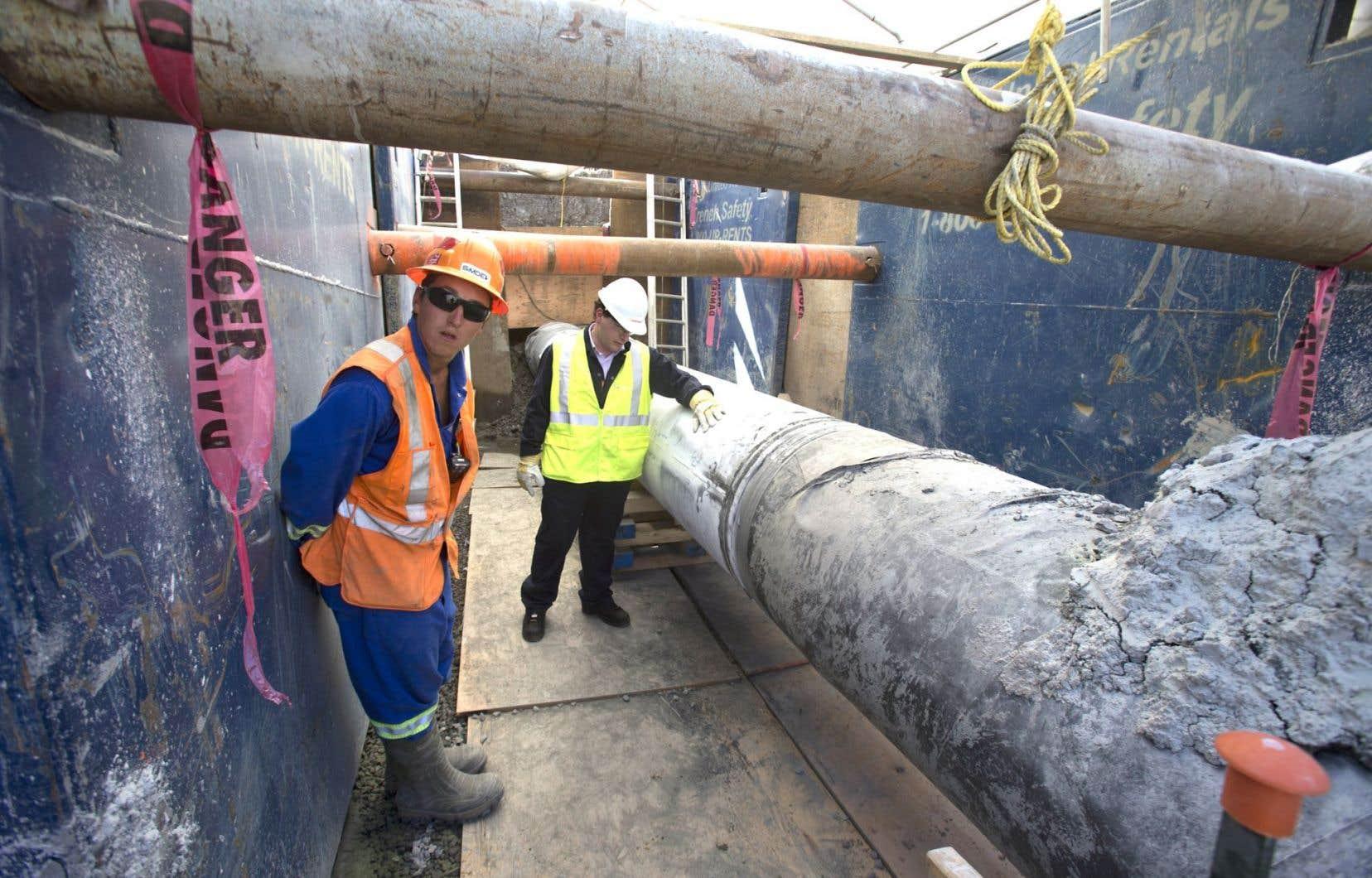 L'ONE a annoncé en octobre qu'il autorisait Enbridge à inverser le flux de pétrole dans le pipeline 9B.