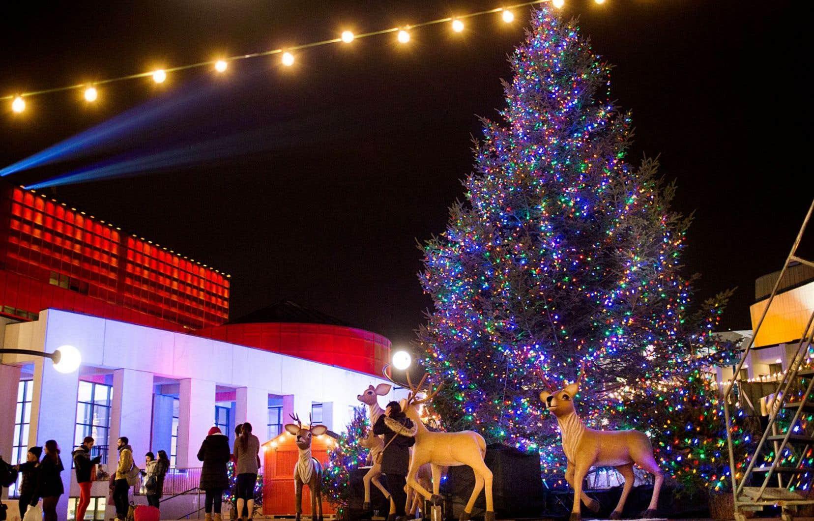 À partir de demain, samedi, on pourra s'en donner à cœur joie avec toutes les activités proposées par le Grand Marché de Noël à Montréal.