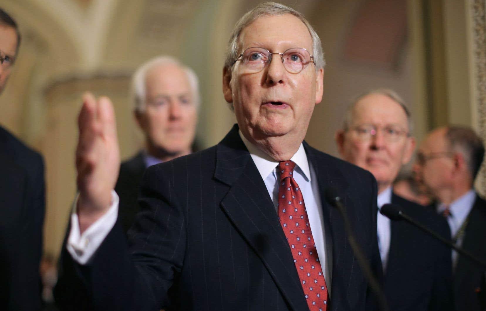 Mitch McConnell, l'homme fort de la Chambre haute du Congrès