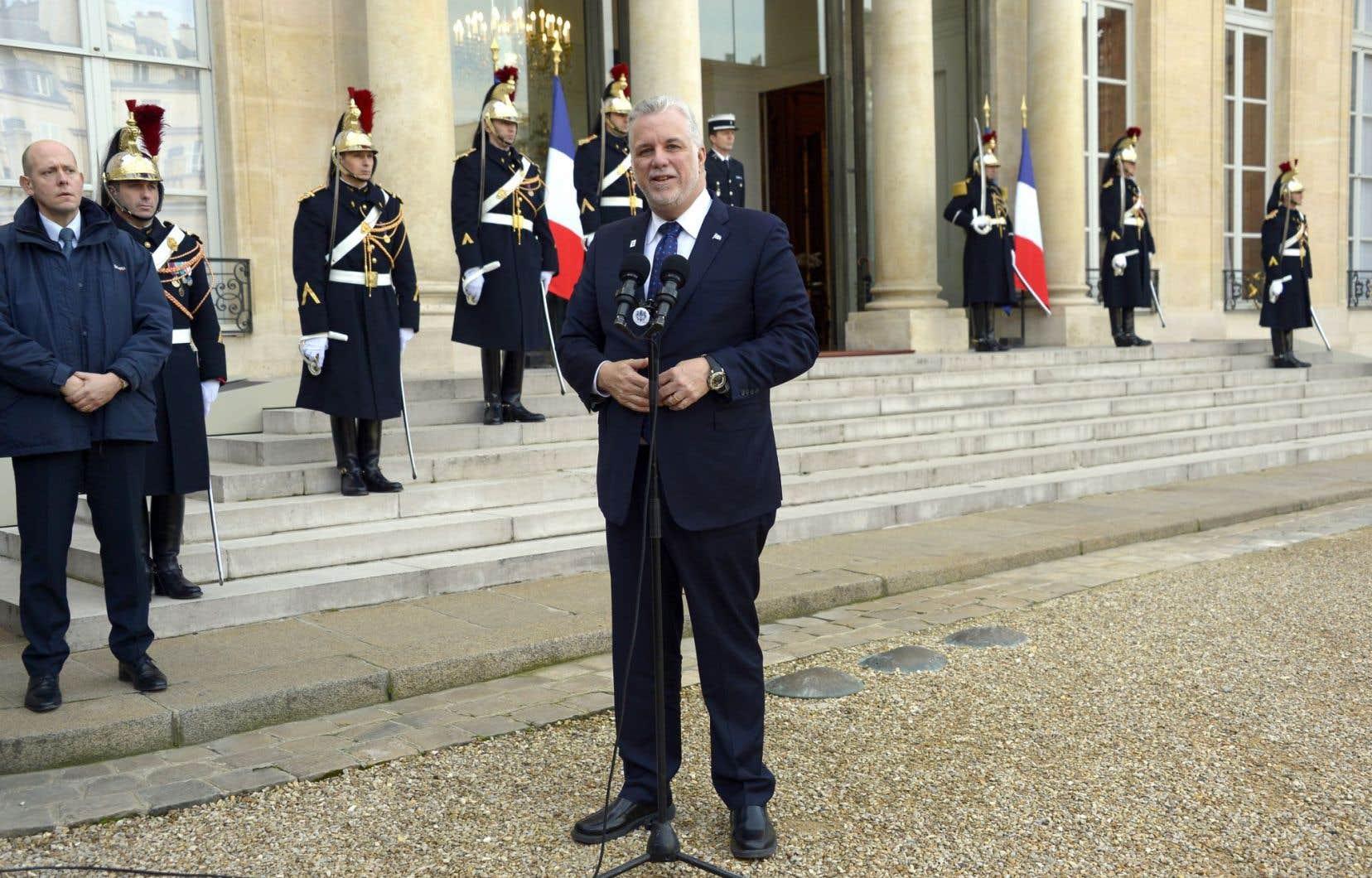 Philippe Couillard a profité de la COP21 pour replacer le Québec sur la scène internationale.