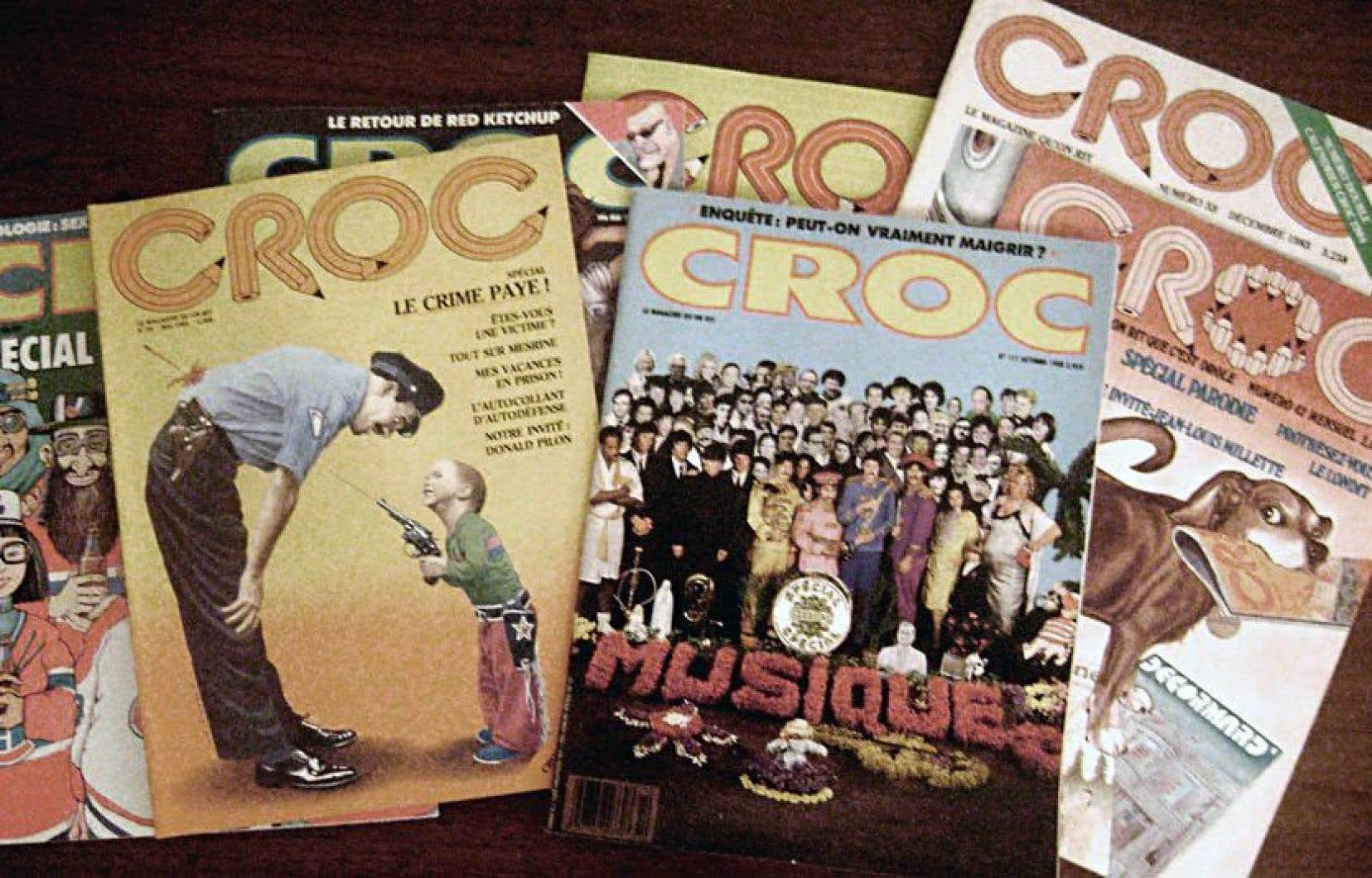 Le magazine satirique «Croc»