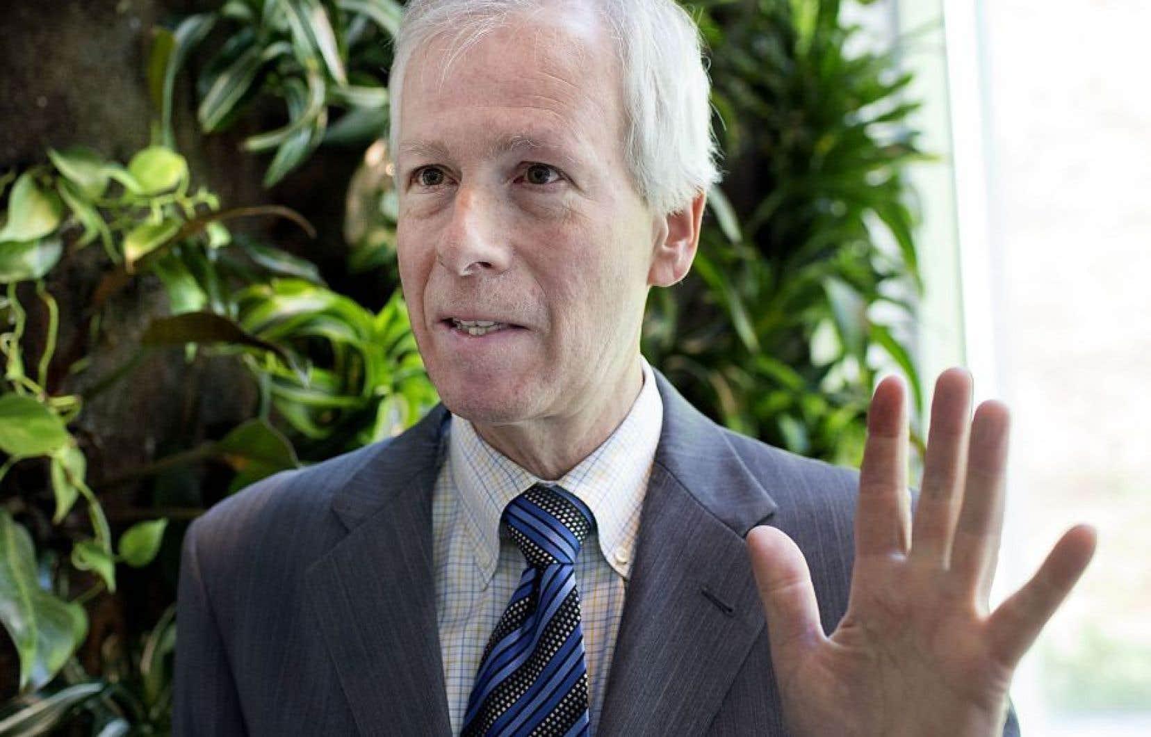 Le chef de la diplomatie canadienne, Stéphane Dion