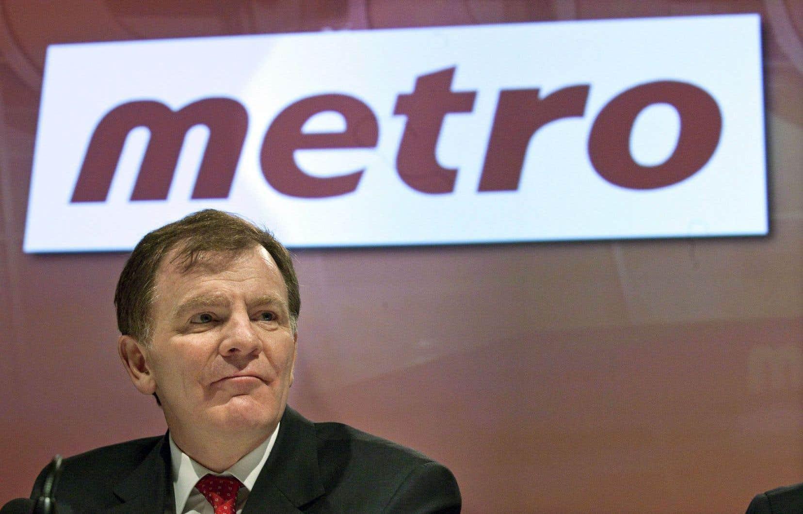 La rémunération globale du grand patron de Metro, Éric La Flèche, a été de 3,69 millions en 2015.