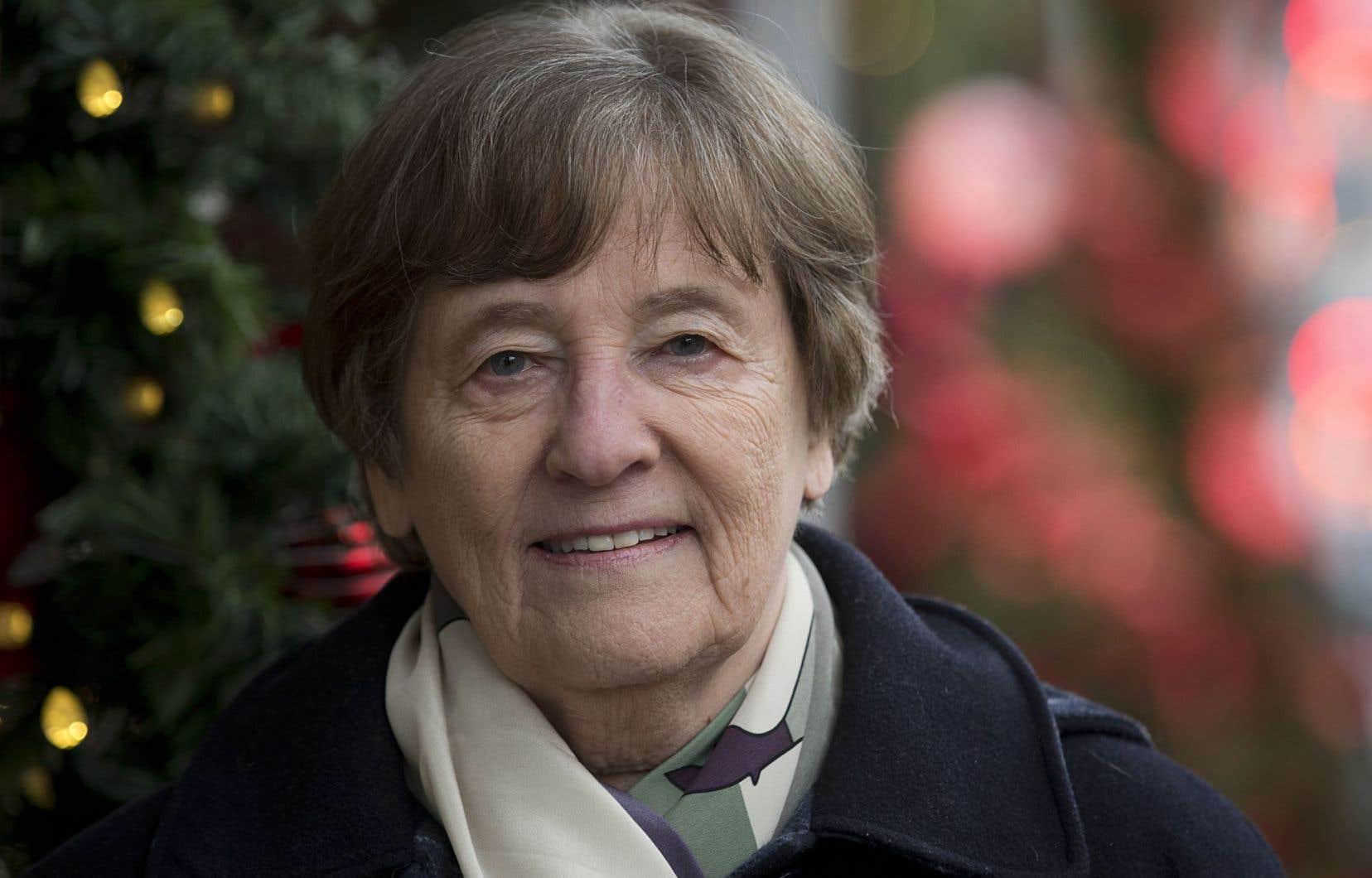 Michèle Stanton-Jean,chercheuse invitée au Centre de recherche en droit public à l'Université de Montréal
