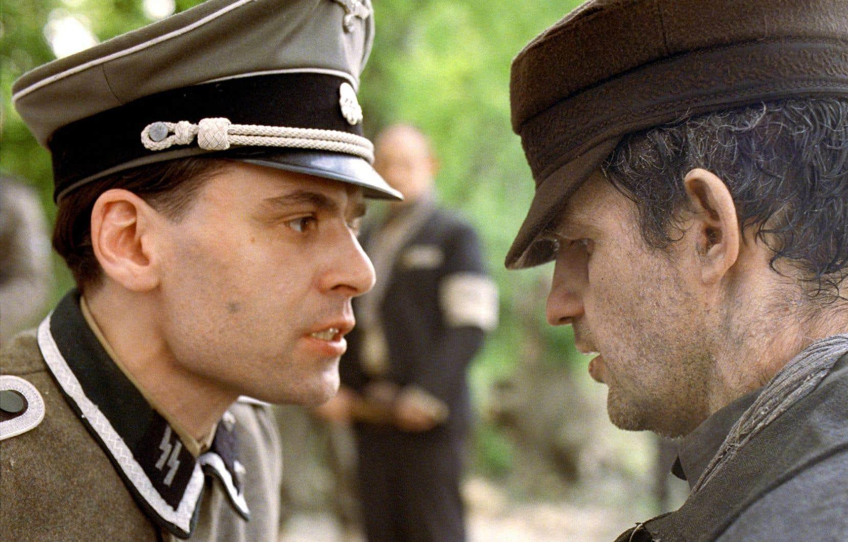 Les acteurs Christian Harting et Geza Rohrig dans «Le fils de Saul»