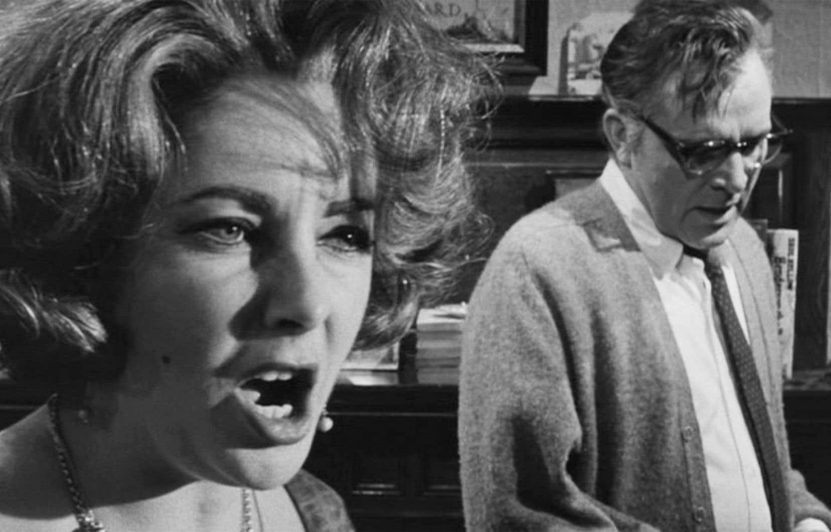 Elizabeth Taylor et Richard Burton, vus par Haskell Wexler, dans «Qui a peur de Virginia Woolf?», de Mike Nichols, en 1966.