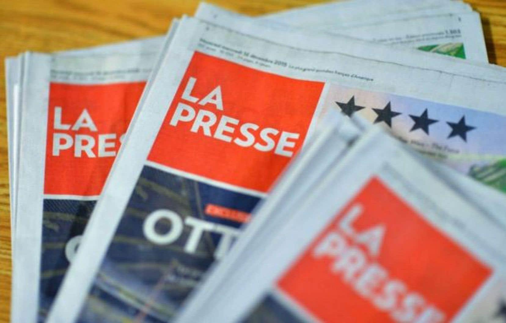 Une édition papier de La Presse continuera à être publiée tous les samedis.