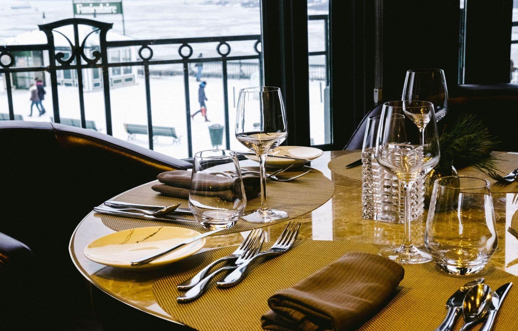 Le restaurant Champlain du Château Frontenac, à Québec, propose une expérience exceptionnelle.