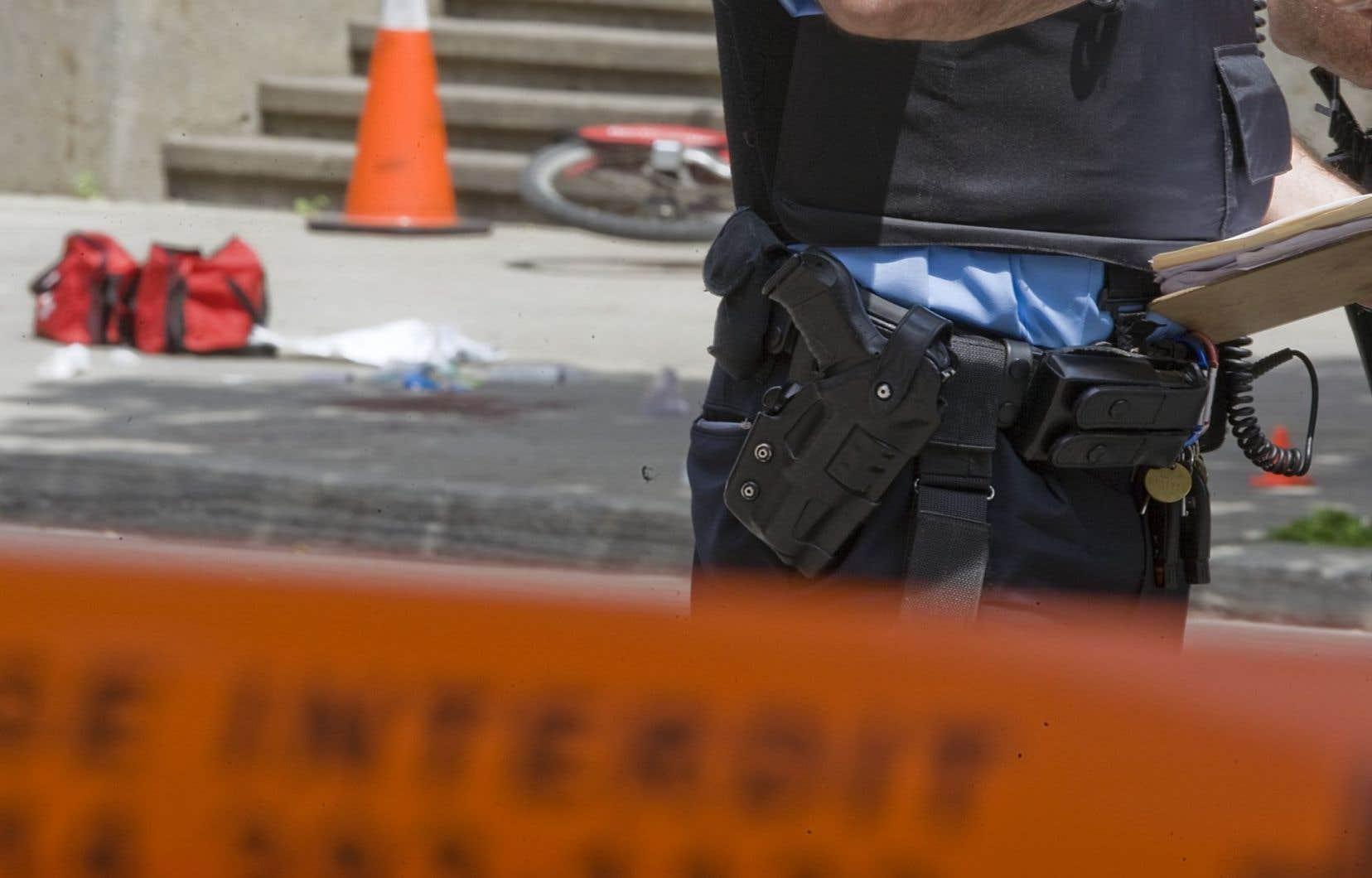Entre 2006 et 2010, 12 des 47 personnes atteintes de projectiles provenant d'agents de la paix québécois voulaient commettre un «suicide par policier interposé».