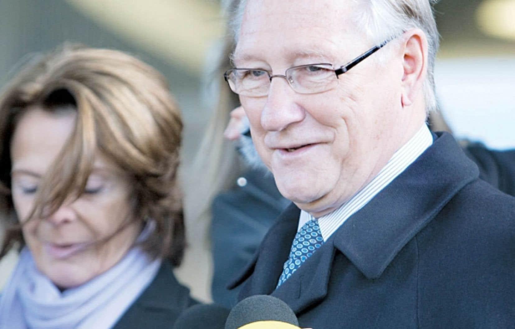 Gérald Tremblay, le maire réélu de Montréal