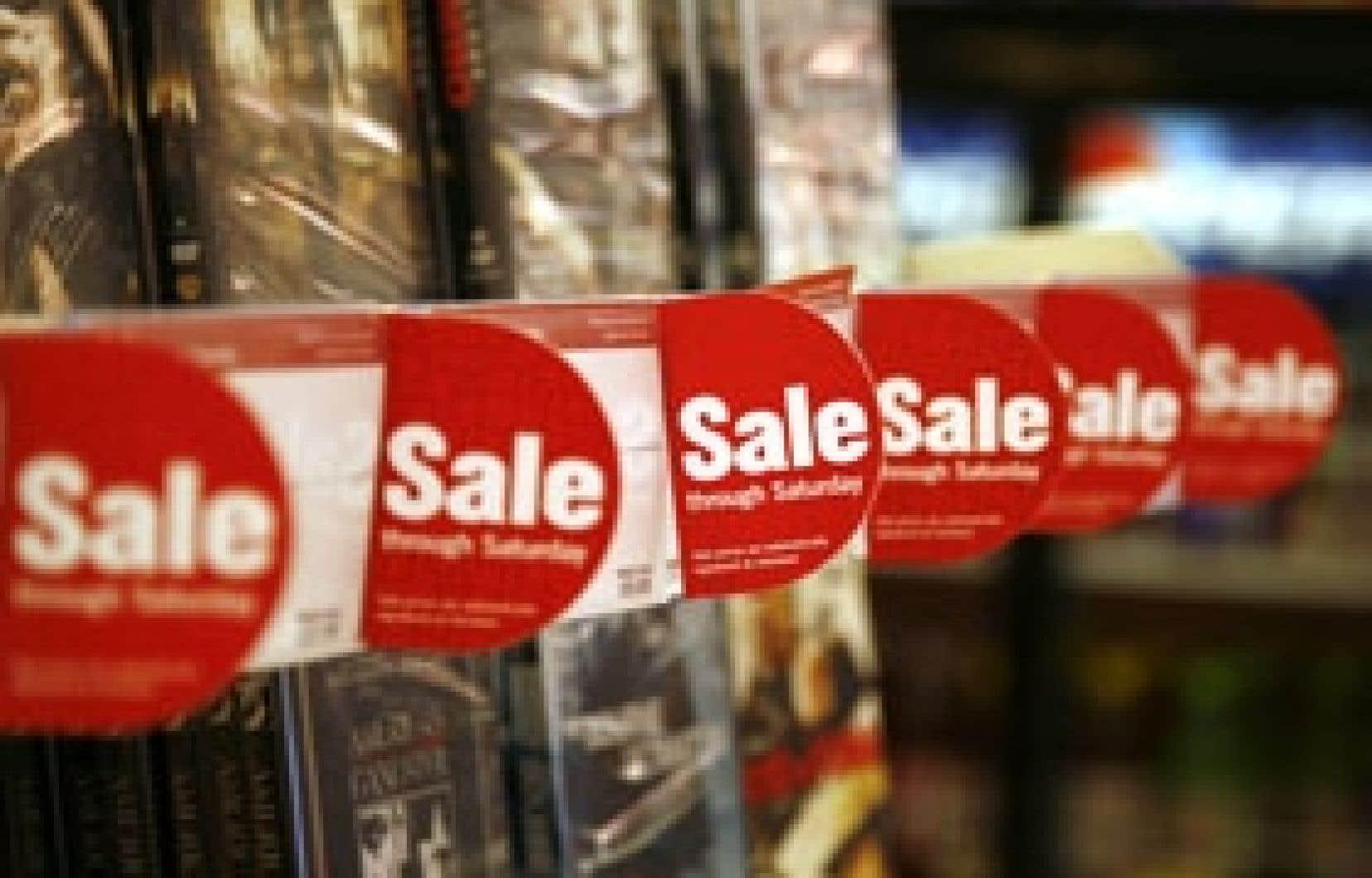 Aux États-Unis, la consommation a plongé de 4,3 %, contribuant négativement à l'évolution du PIB.
