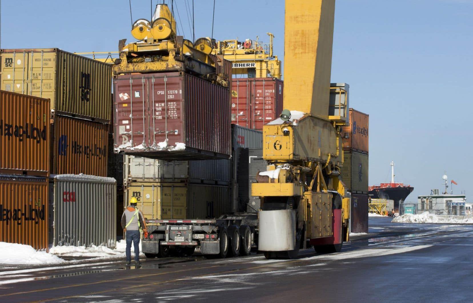 Les exportations québécoises vers les États-Unis restent encore franchement en deçà de leur niveau de 2006.