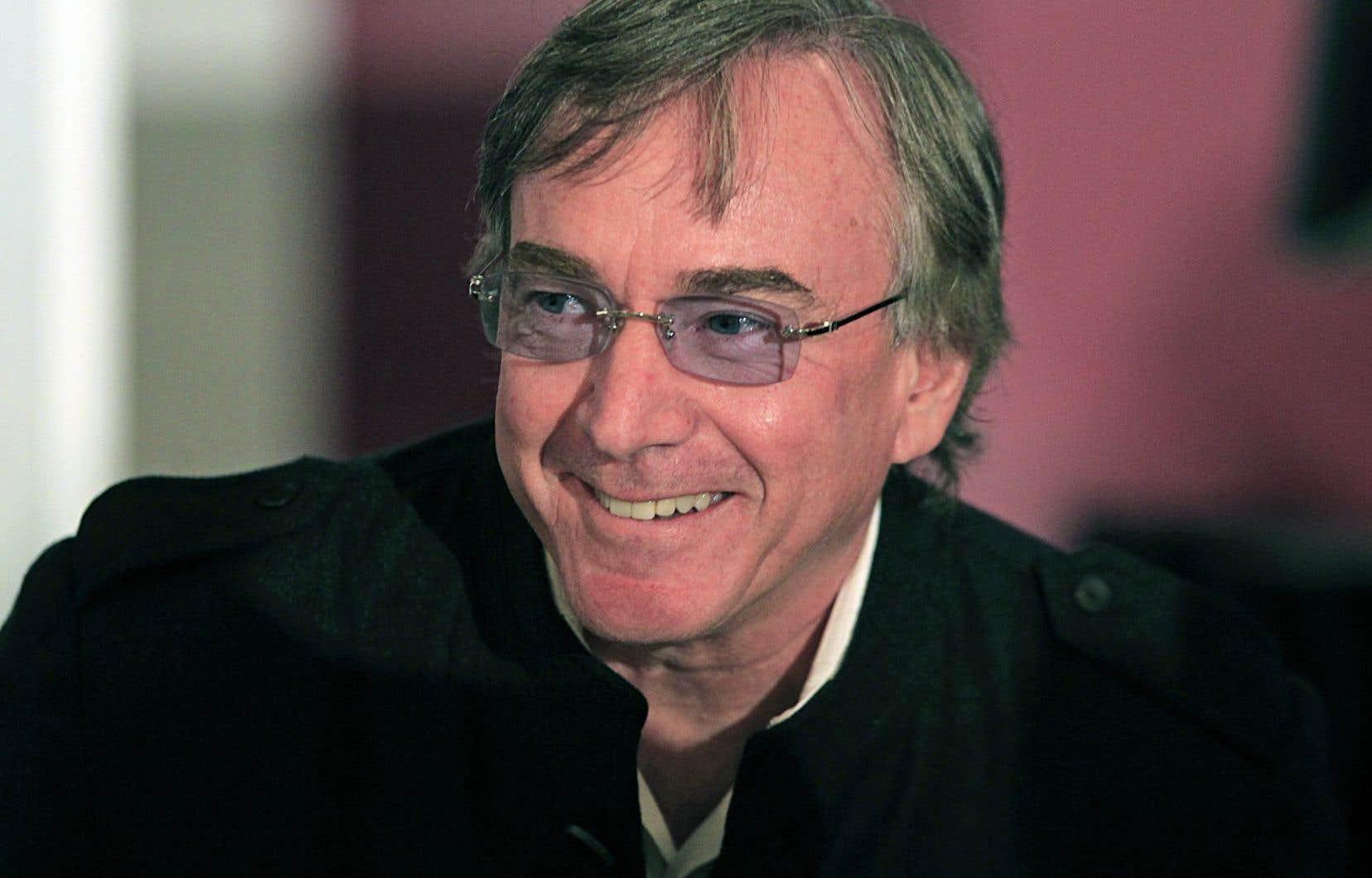Daniel Lamarre, le président-directeur général du Cirque du Soleil