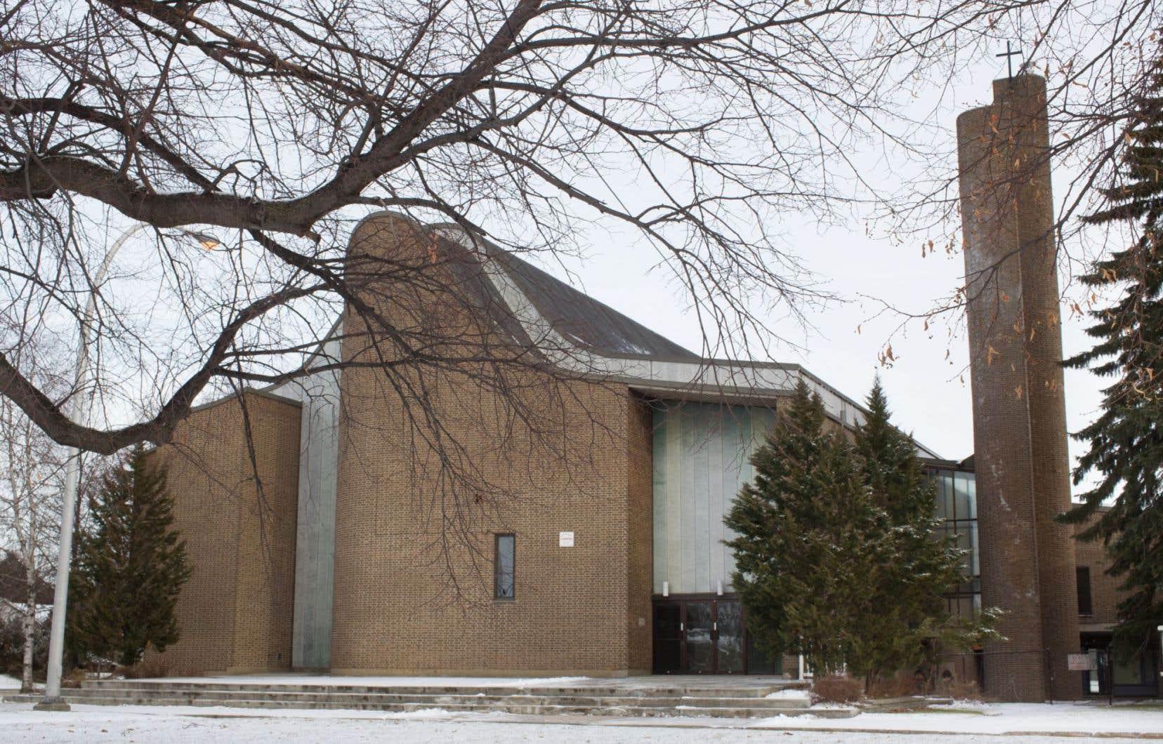 Réjean Roy, propriétaire des Habitations Réjean Roy, a acheté, avec un associé, l'église Saint-Gérard-Majella en octobre dernier pour 800 000 $.