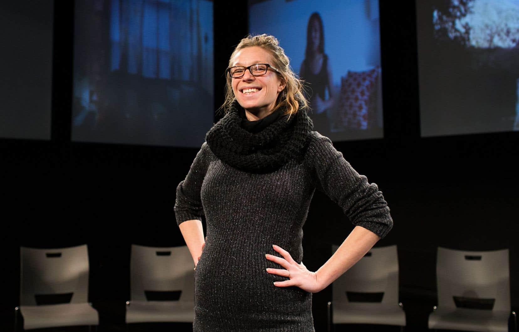 Michelle Parent, metteure en scène et directrice de la compagnie Pirata théâtre