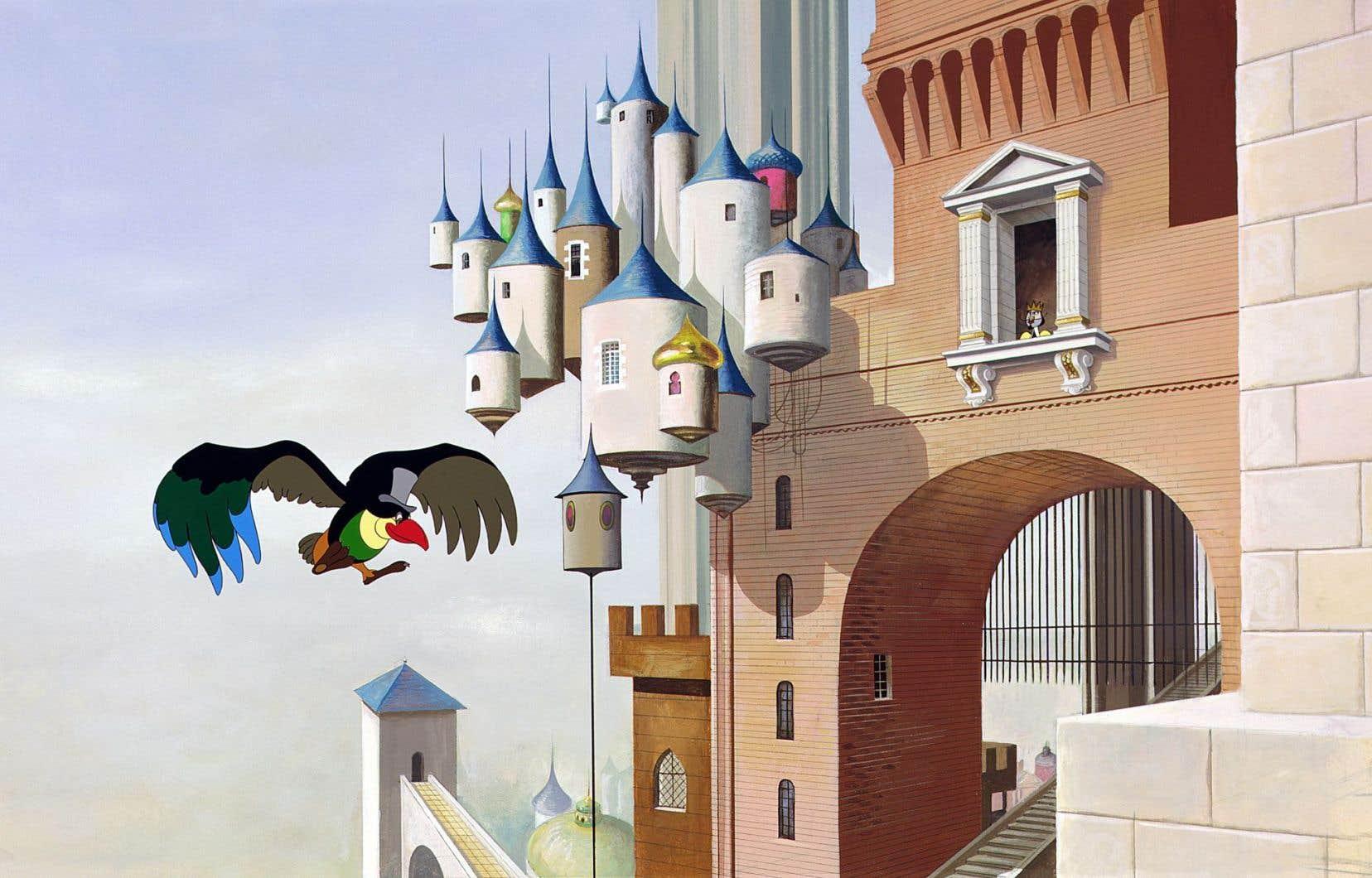 Du conte de Hans Christian Andersen Paul Grimault a tiré un film d'animation sublime.