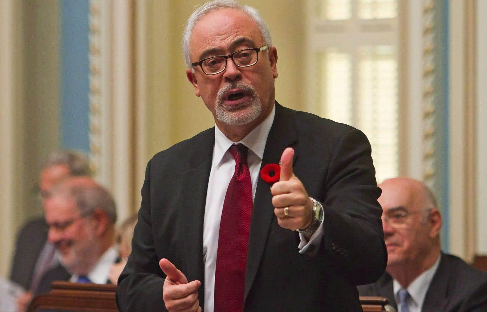 Carlos Leitão: «Dans le contexte mondial, la performance économique du Québec est relativement positive. »