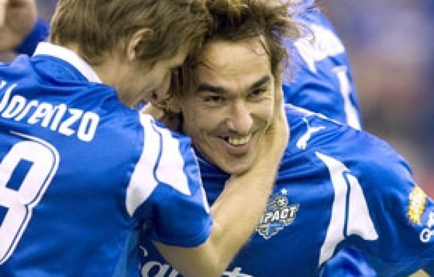 Grâce à ses deux buts, mercredi, Eduardo Sebrango s'est chargé de garder le rêve des joueurs montréalais bien vivant.