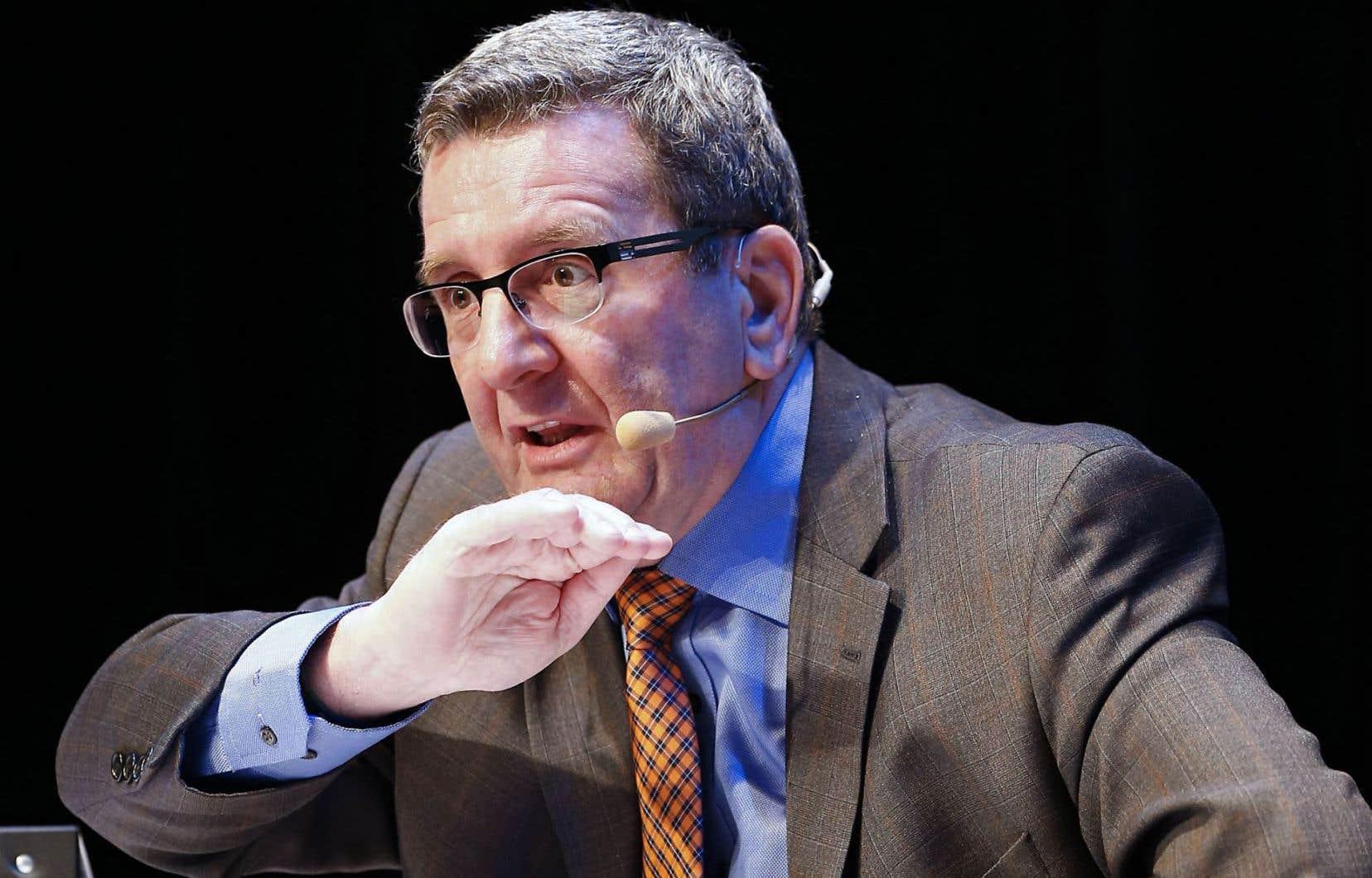 Le maire de Québec, Régis Labeaume, considère que le dossier du pont est une question de patrimoine.