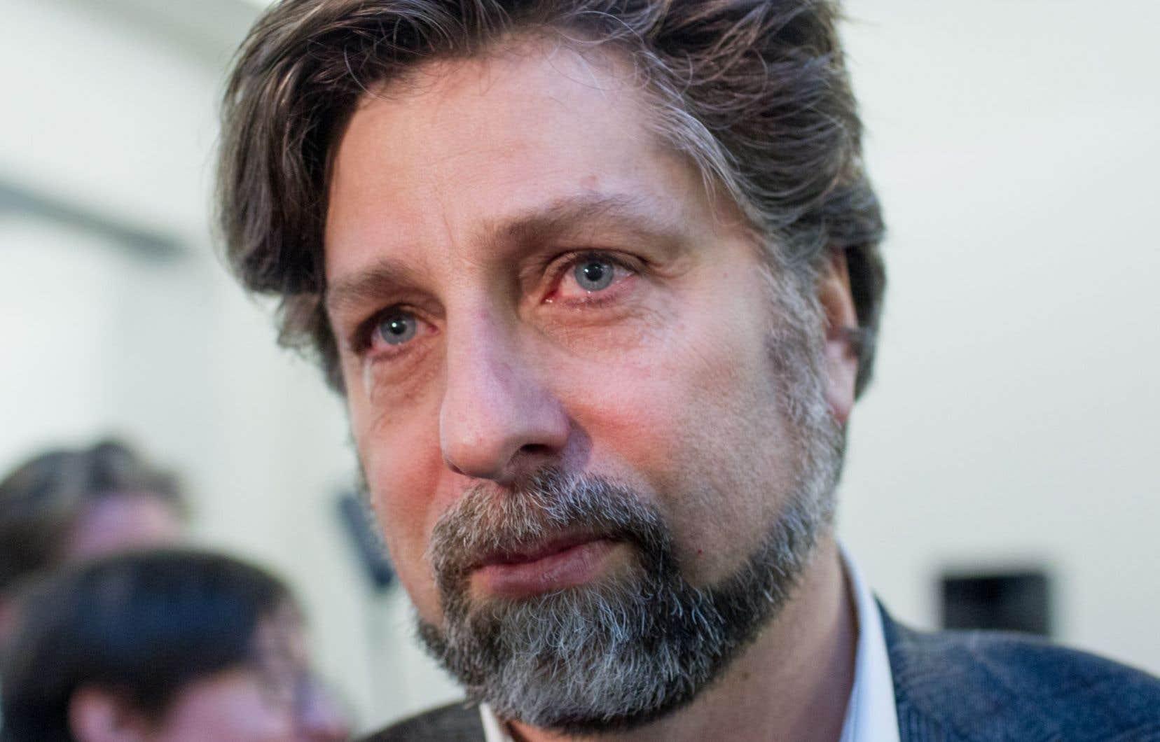 Luc Ferrandez, qui est maire du Plateau-Mont-Royal depuis 2009, ignore encore s'il sollicitera un autre mandat à la tête de cet arrondissement pour les élections de 2017.