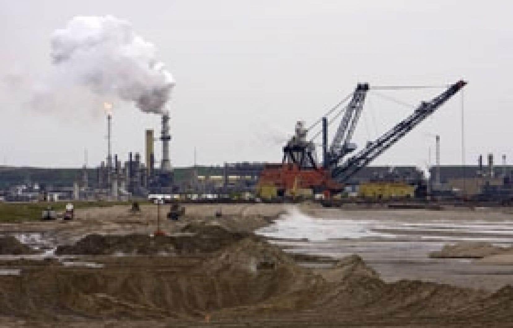 Les installations de Syncrude, à Fort McMurray, en Alberta.