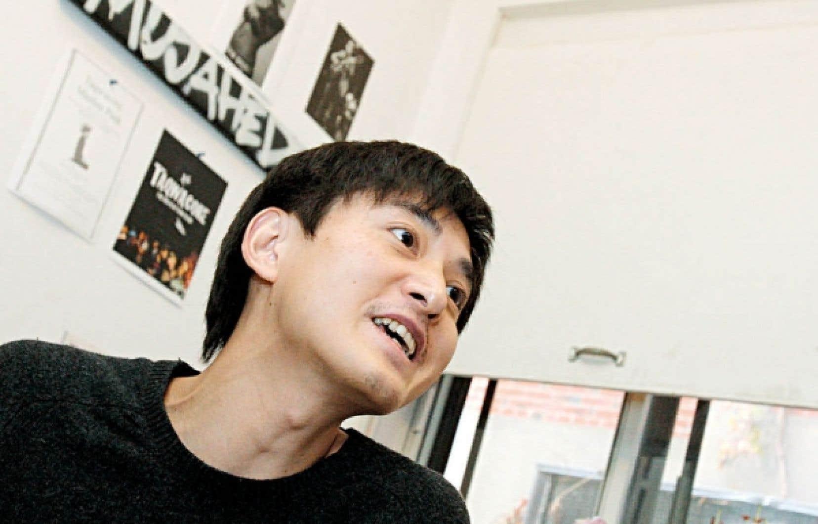 Le réalisateur chinois Lixie Fan est établi à Montréal depuis quelques années.