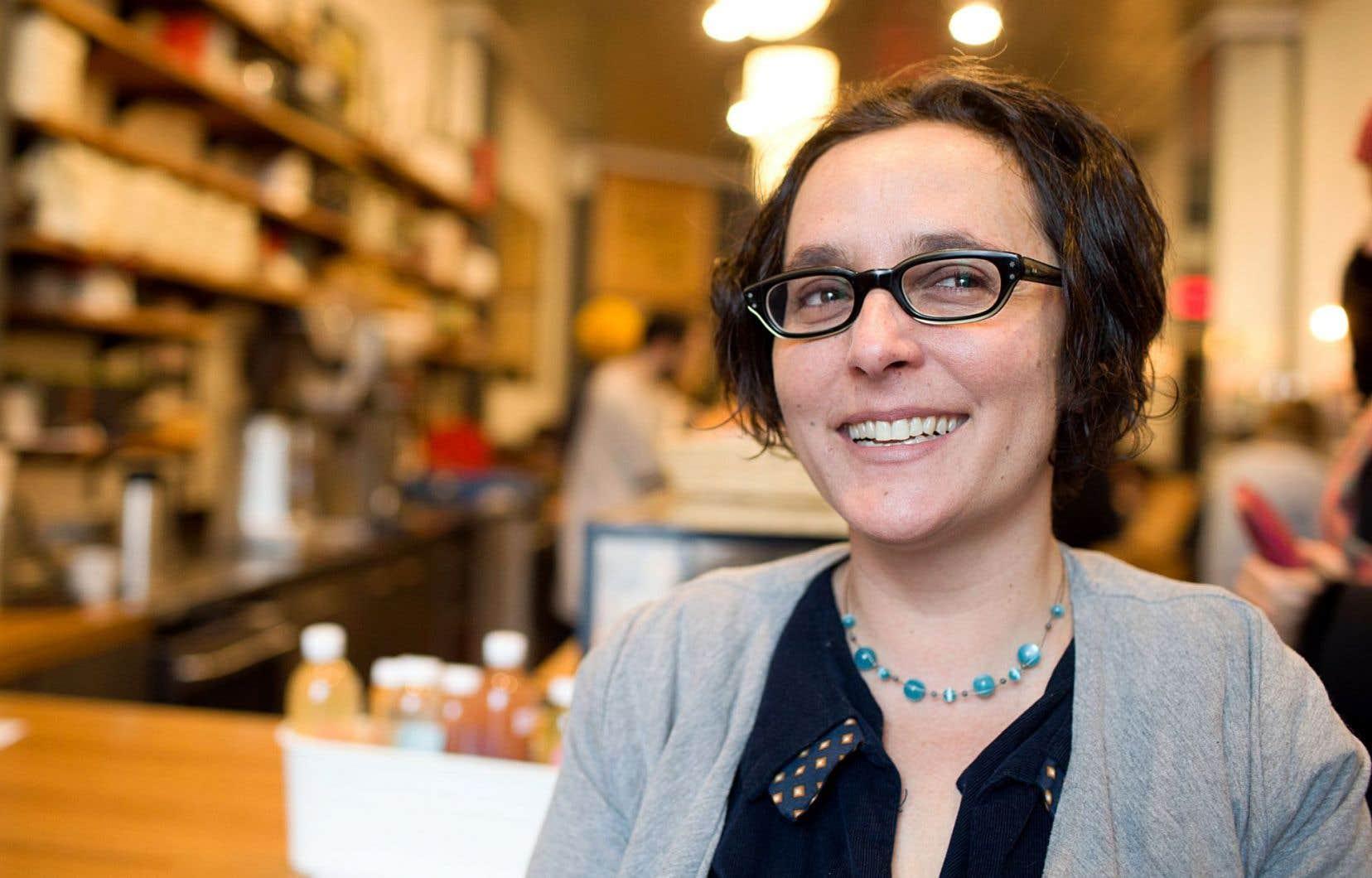 Gabriella Coleman, spécialiste des pirates informatiques, est anthropologue de formation.