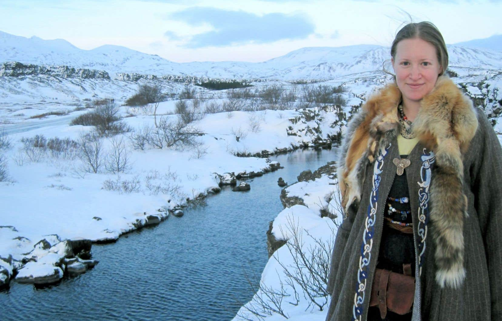 La passion de Karyn Bellamy-Dagneau pour l'histoire du Moyen Âge nordique l'a amenée à voyager pour ses études dans plusieurs pays, dont l'Islande