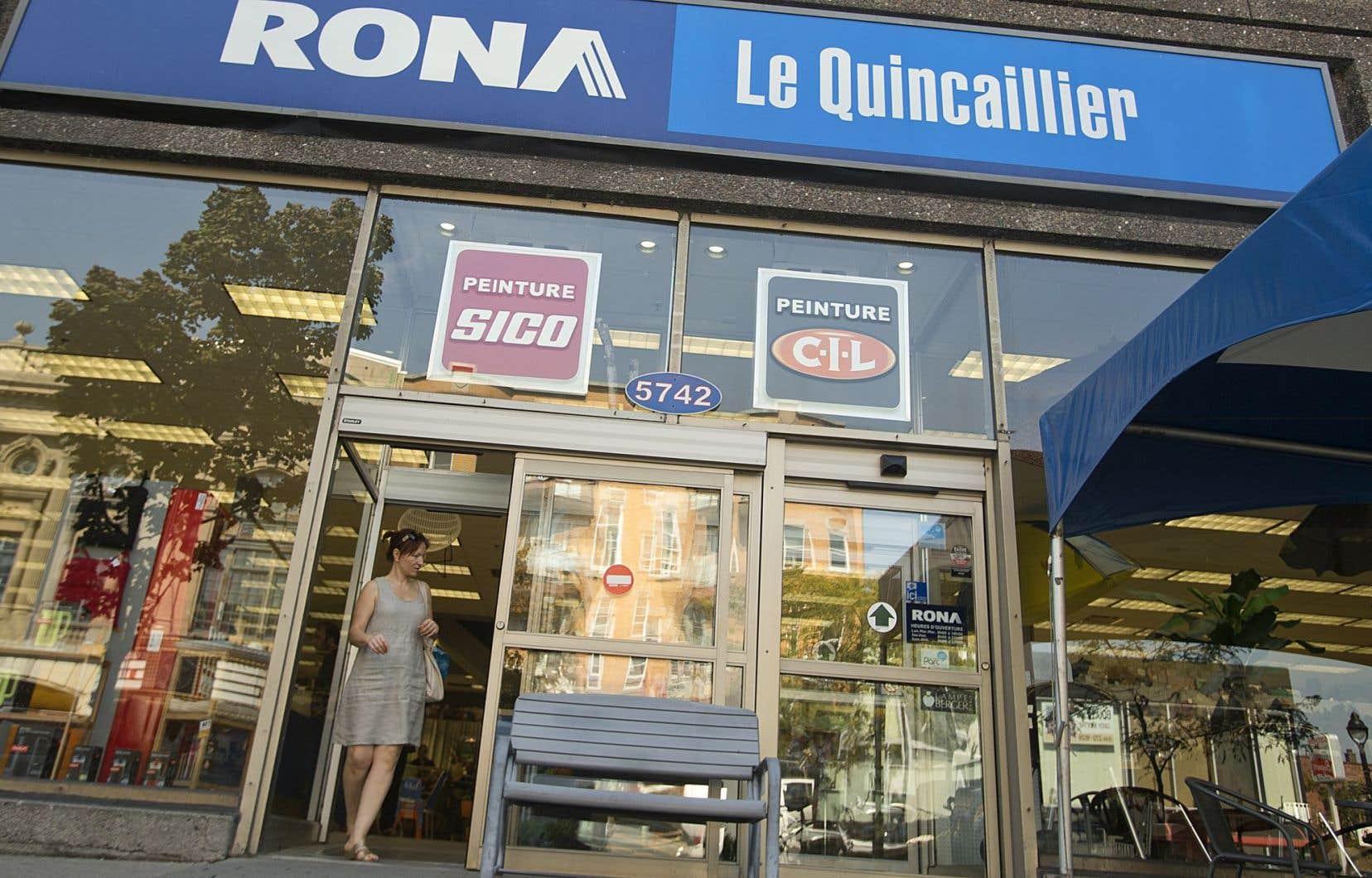 RONA exploite un réseau de près de 500 magasins corporatifs et magasins affiliés indépendants.
